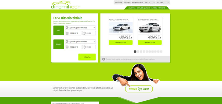 Best rental car prices at dinamikcarrental.com, Kusadasi Car Rental %>